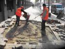 哈市香坊区将维修7.5万平方米人行道 营造良好出行环境