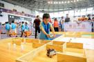 """杭州下沙一场机器人比赛 全国600多个伢儿来""""打擂"""""""