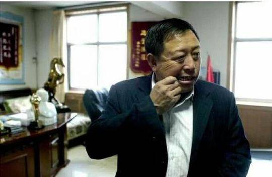 ▲2007年时的陕西前首富高乃则。陕西媒体人张宏伟摄影