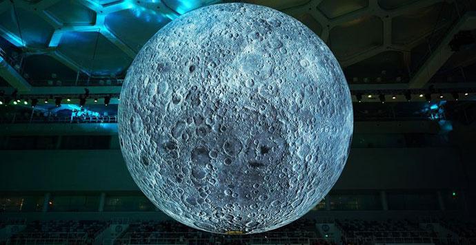 """中国探月科技与""""月球博物馆""""特展在北京举行"""