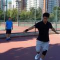 专业有效的网球热身