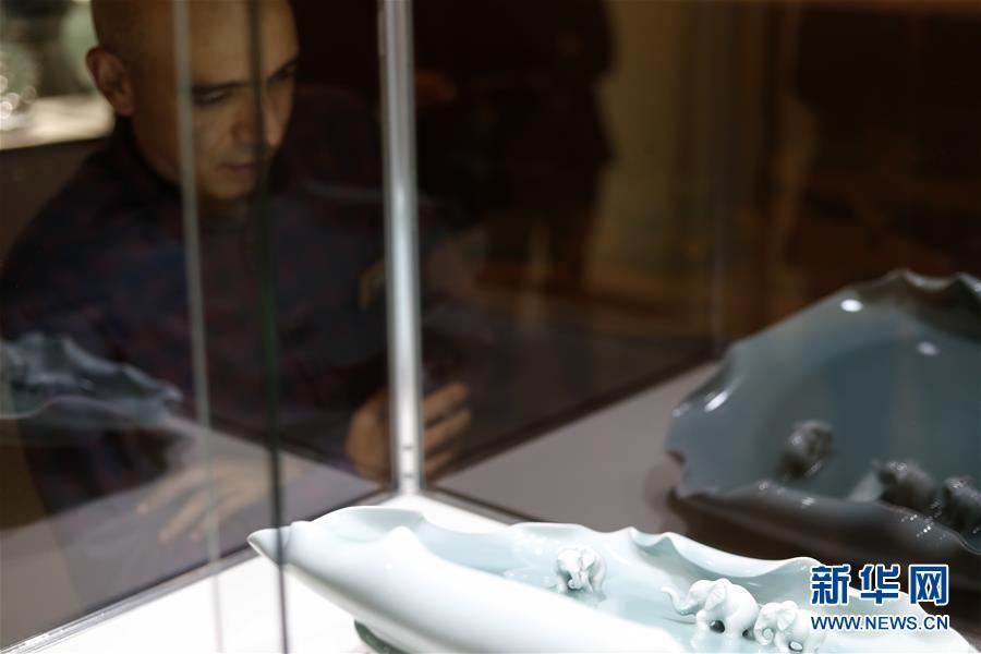 2018龙泉青瓷巡展亮相纽约联合国总部 展出85件青瓷珍品