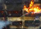 印度一市场发生火灾
