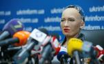 """最美机器人""""索菲亚"""""""