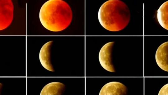 """""""超级红月亮""""明日上演 美欧可观测"""