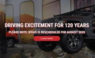 二战以来首次!纽约国际车展宣布延期至今年8月举行